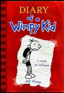 Diary of Wimpy Kid book 1 by jeff kinney