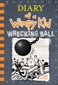 Diary of a wimpy kid book 14 wrecking ball