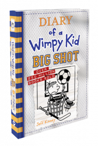 diary of a wimpy kid big shot